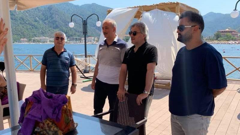 Kültür ve Turizm Bakan Yardımcısı Marmaris'te incelemelerde bulundu