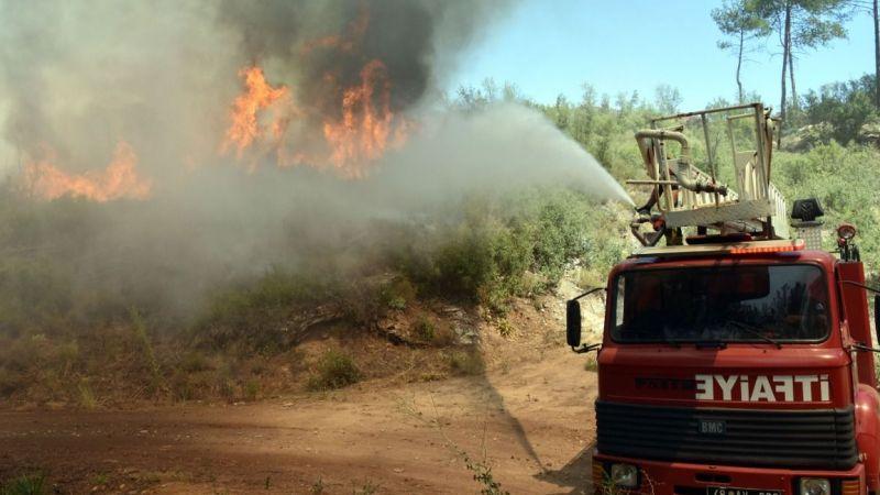 Muğla Büyükşehir Belediyesi ilk günden beri yangınlarla mücadele ediyor