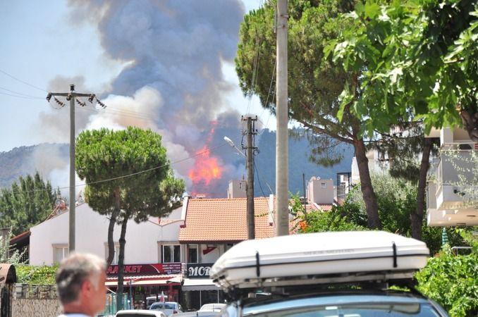 Fotoğraflarla Marmaris ve Muğla Yangınları