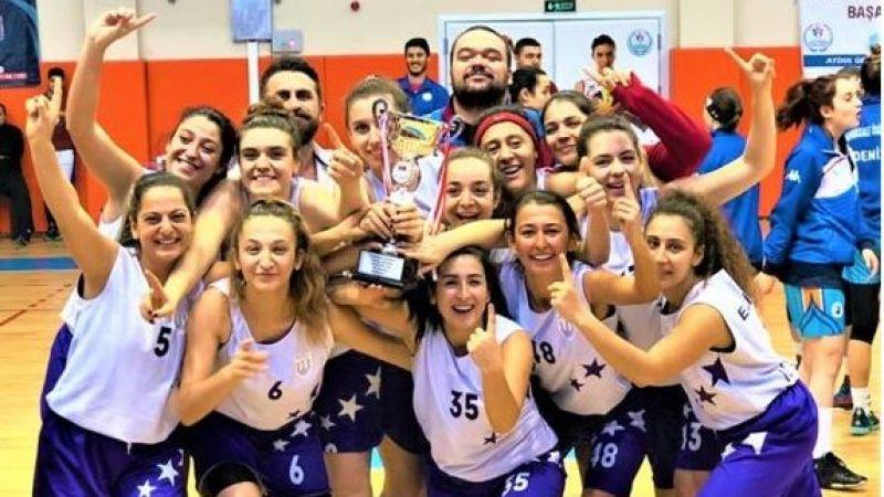 Muğla Karya GSK Basketbol Kadınlar bölgesel liginde
