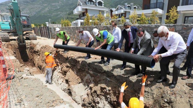 Hisarönü-Ovacık Kanalizasyon Hatlarının 88 kilometresi Tamamlandı