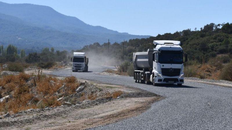 Hacıbayramlar-Kırıkköy arası asfaltlandı