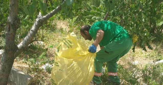 Ankara Çankaya'da Bayram Sonrası Temizlik Başladı