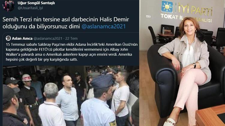 Ömer Halisdemir'e FETÖ'cü Diyen İYİ Partili Sarıtaşlı'ya Soruşturma Açıldı