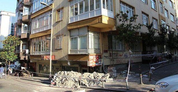 Güngören'de Yıkılma Tehlikesi Olan Bina Acil Şekilde Boşaltıldı!