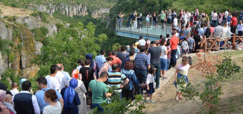 Tatilciler Safranbolu'ya Akın Etti!
