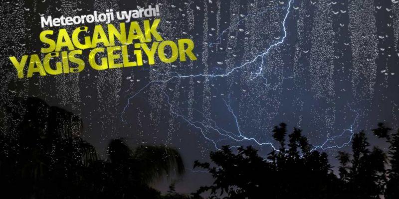 Erzurum, Kars, Ardahan, Ağrı ve Iğdır'a Şiddetli Yağmur Uyarısı!