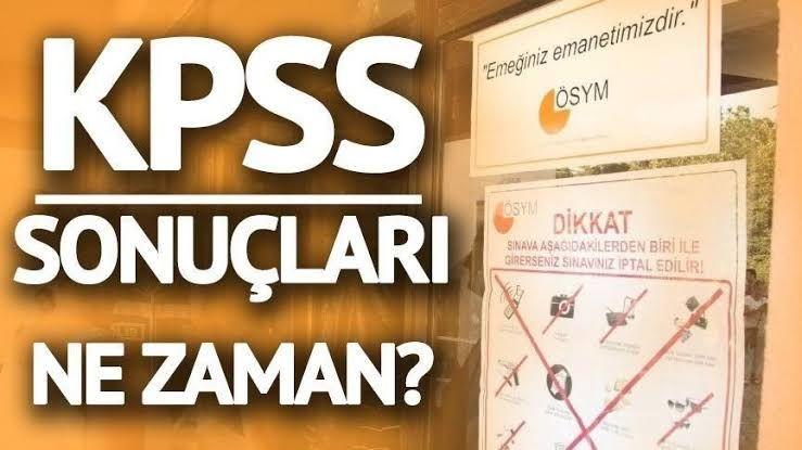 KPSS sınav sonuçları ne zaman açıklanacak? 2021 KPSS Sonuçları Ne zaman Açıklanacak Tarih Belli Oldu!