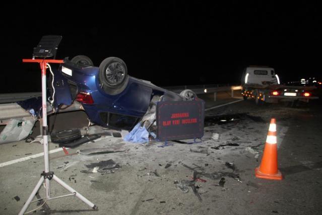 Muğla'da Kamyona Çarpan Otomobil Sürücüsü Hayatını Kaybetti!