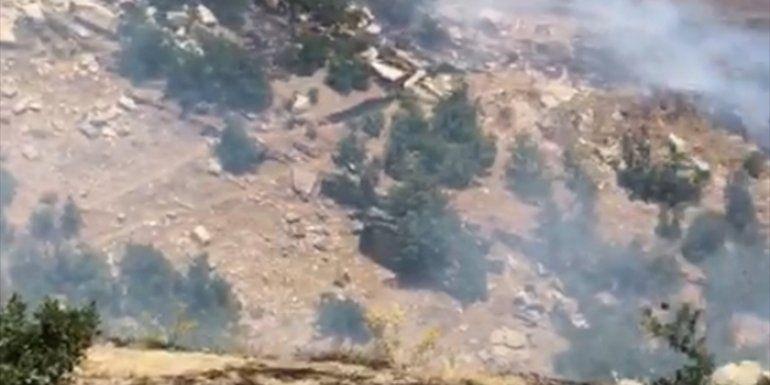 Tunceli'de Örtü Yangınına Müdahale Edildi!