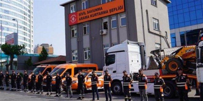 İstanbul'dan Yangın Bölgelerine Yardım! 150 Araç ve 719 Personel Yolda!