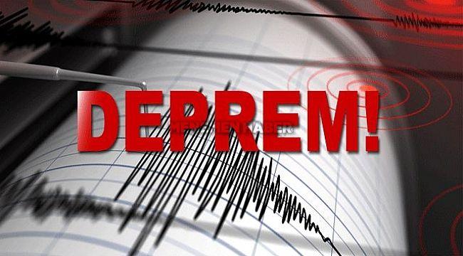 Muğla'nın Datça İlçesi Yakınlarında 4,1 Büyüklüğünde Deprem