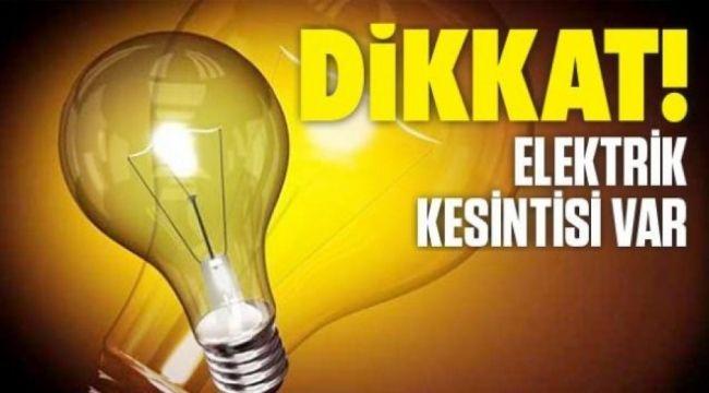 Ankara Elektrik Kesintisi Yaşayacak İlçeler! 3 Ağustos 2021