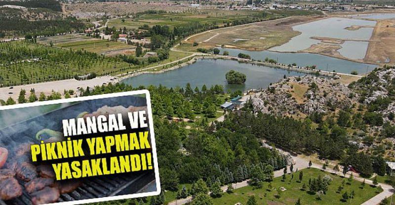 Ankaralıların Dikkatine! Büyükşehir Belediyesinin Mesire Alanlarında Mangal ve Ateş Yakamayacak