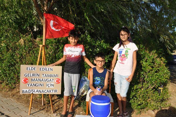 Kahramanmaraş'ta Yaşayan Minik Kuzenler Yangın Mağdurlarına Büyük Yardım!