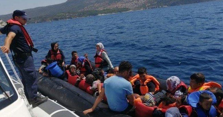 İzmir'de 19 Göçmen Yakalandı!