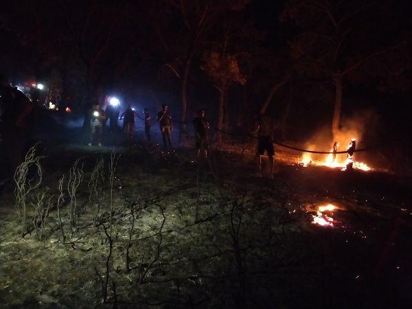 Çanakkale'de Orman Yangını! Ezine İlçesine Hemen Müdahale Edildi