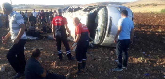 Mardin'de Dehşet Anları! Trafik Kazasında 10 Yaralı