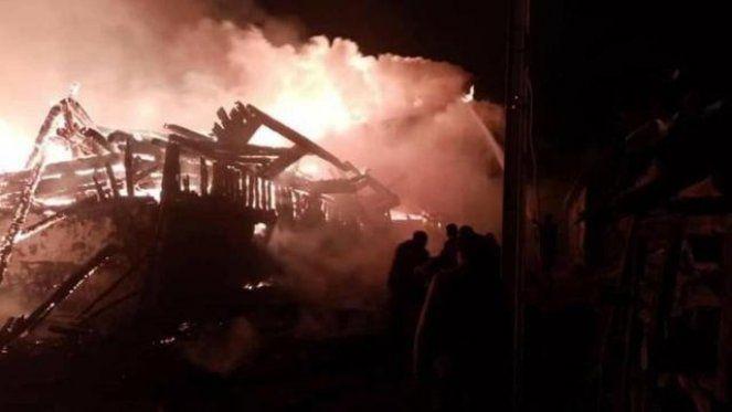 Ankara'da Korkunç Yangın! Çok Sayıda Ev Küle Döndü
