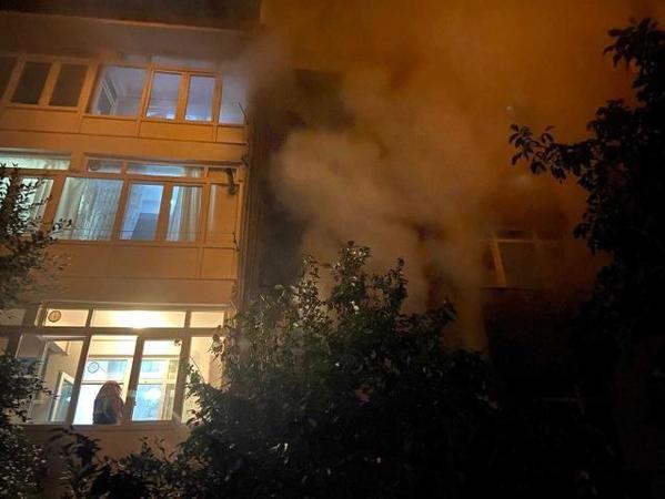 Ankara Kızılcahamam'da Korkutan Yangın!