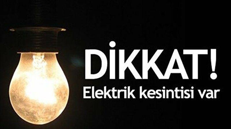 Ankara Güncel Elektrik Kesintisi Yaşayacak İlçeler! 26 Eylül 2021 Pazar!