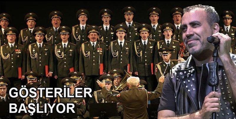 Rus Kızılordu Korosu İle Konser Verecek Olan Haluk Levent Gülümsetti!