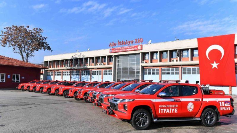 Başkent Ankara'da İtfaiye Haftası Kutlamalarına Start Verildi!