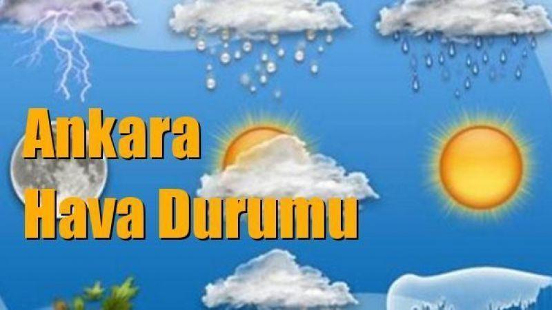 Ankara Hava Durumu! 11 Ekim Pazartesi Ankara İlçelere Göre Güncel Hava Durumu!