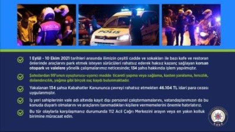 Başkent Ankara'da Denetimler Sürüyor: Korsan Otopark Ve Vale Denetimlerinde Birçok Kişiye Para Cezası Kesildi