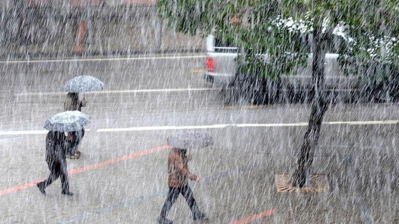 4 İl için Sağanak Yağış Uyarısı!