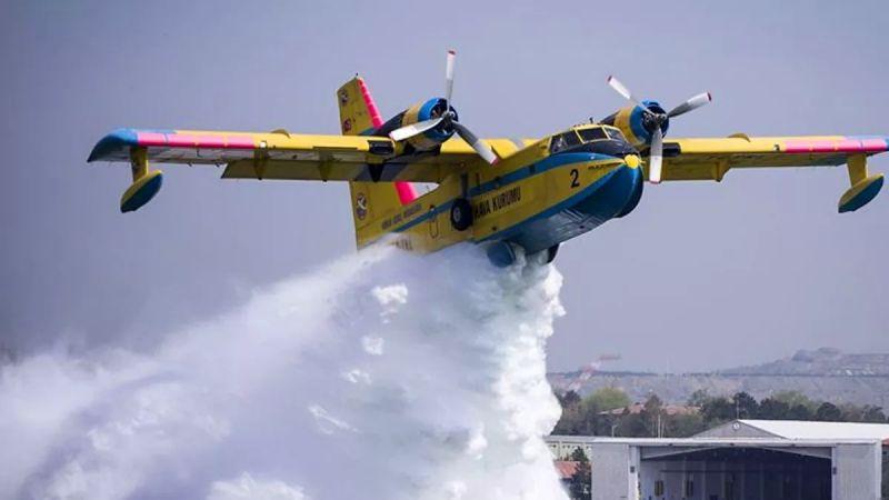 THK: 20 hava aracı ülkemizin her bölgesindeki yangınlara müdahalede bulunuyor