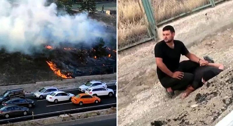 Yangın şüphelisinin terör bağlantısı var mı? Başsavcılık açıkladı...