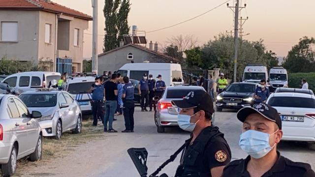 Konya'daki katliamda 10 gözaltı
