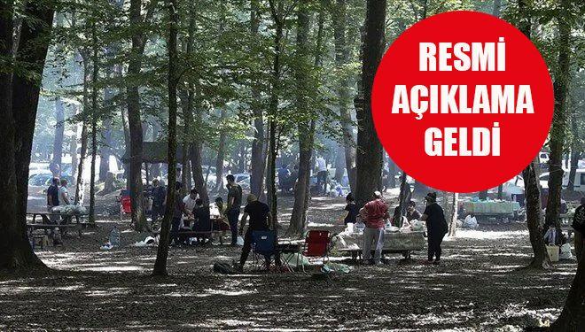 İstanbul'da piknik yasak mı?