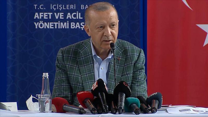 Cumhurbaşkanı Erdoğan afet bölgesinde açıkladı! Kira yardımı yapılacak