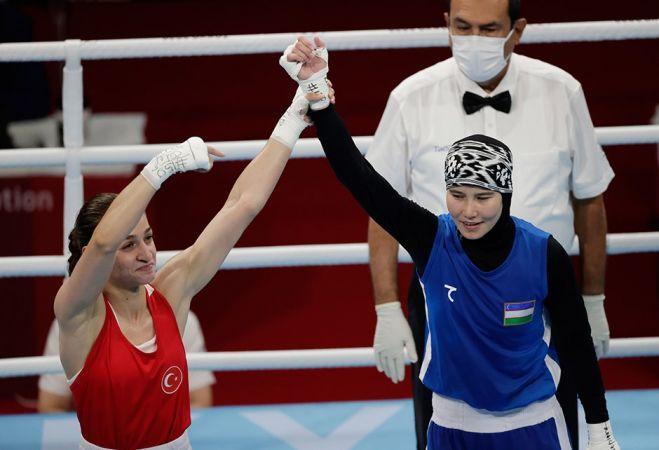 Büyük Başarı: Buse Naz Çakıroğlu Olimpiyat Madalyasını Garantiledi!