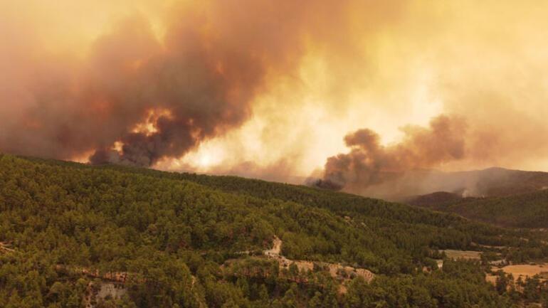 Antalya Kemer'de 3 Farklı Noktada Orman Yangını Çıktı!
