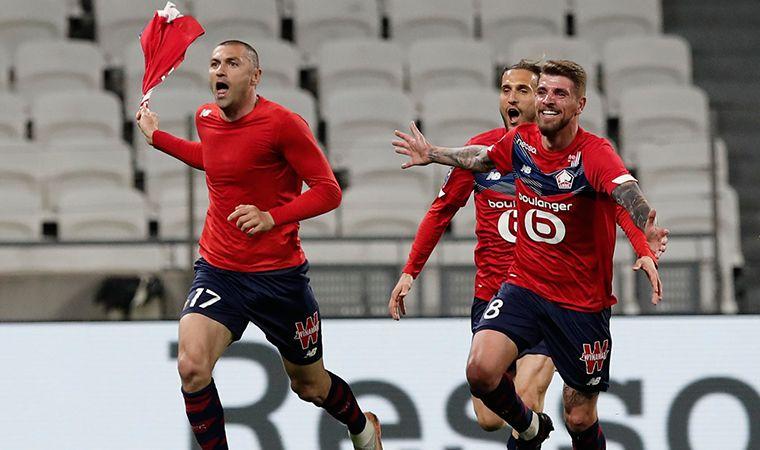 Burak Yılmaz'dan Tarihi Başarı: Fransa Süper Kupası'nı Kazandı!