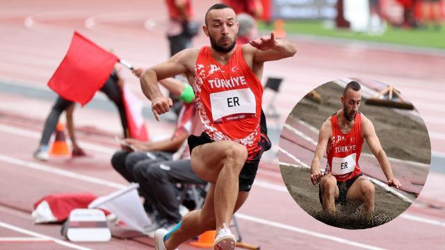 Tokyo'da milli atlet Necati Er finalde