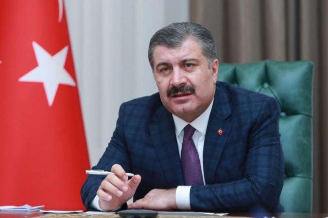 """Sağlık Bakanı Fahrettin Koca Açıkladı: """"Vaka Artış Hızı Azalma Eğiliminde"""""""