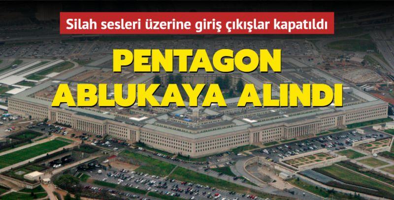 Pentagon'da Saldırı Endişesi! ABD Savunma Bakanlığı Kapatıldı!