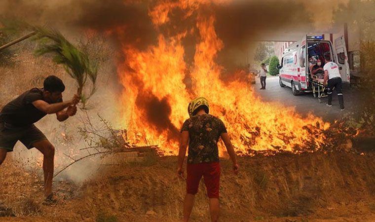 Sivillerin yangına müdahalesine uyarı geldi