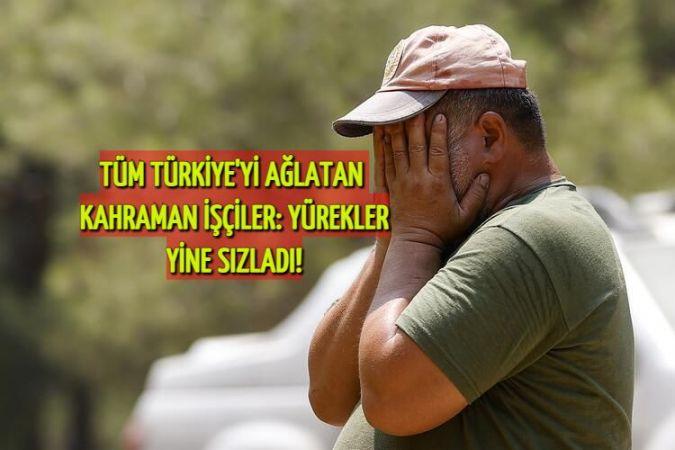 Alevlerin ortasında kaldı ama pes etmedi! Söyledikleri yürek parçaladı: O kahraman işçi tüm Türkiye'yi ağlattı!