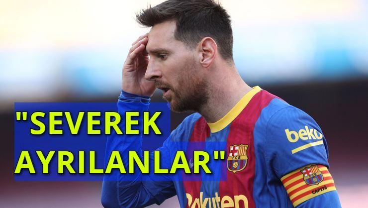Bir Devir Resmen Kapandı! Barcelona ile İpleri Koparan Messi'nin Gideceği Yeni Takım...
