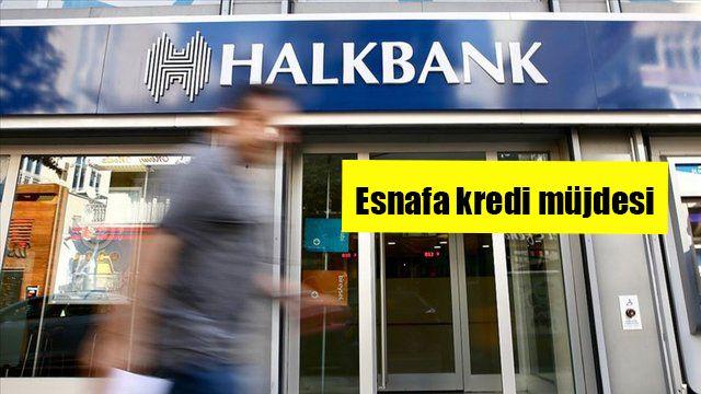 Halkbank'tan büyük esnaf desteği: Esnaf Kefalet Kredisi ile 5 yıla varan vadelerle 225 bin TL! Acil nakit ihtiyacı olan esnafa...