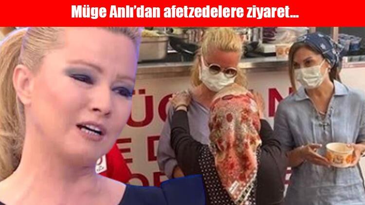 Müge Anlı Antalyalıların gönlünde taht kurdu: Zor günler geçiren Antalyalılara Anlı'dan büyük destek!