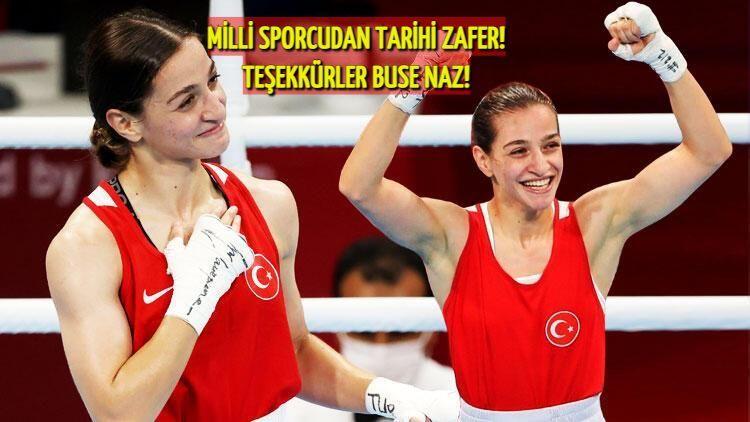Kadınlar tarih yazmaya devam ediyor! Buse Naz Çakıroğlu, madalya ile ülkesine döndü: Tarihi zafere imza attı!