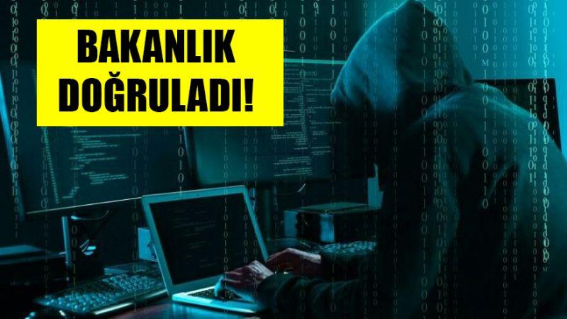 Bakanlıktan 'siber saldırı' açıklaması!