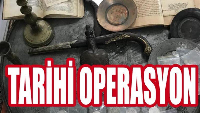 Tarihi eser kaçakçılarına 30 ilde 'Anadolu' operasyonu: 76 gözaltı!