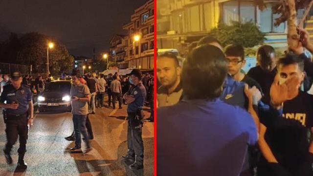 Yabancı Uyruklu Grup Türk Gençlerini Bıçakladı! Mahalleli Sokaklara Döküldü